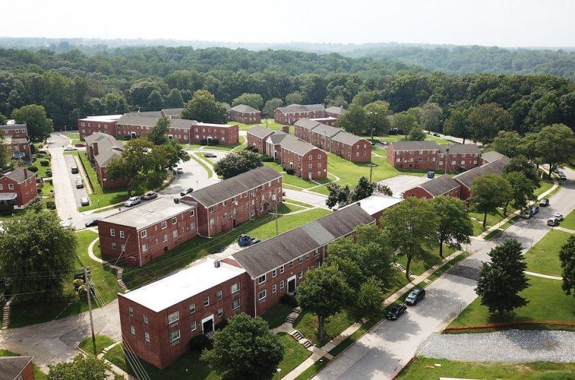Wildwood Gardens Aerial View