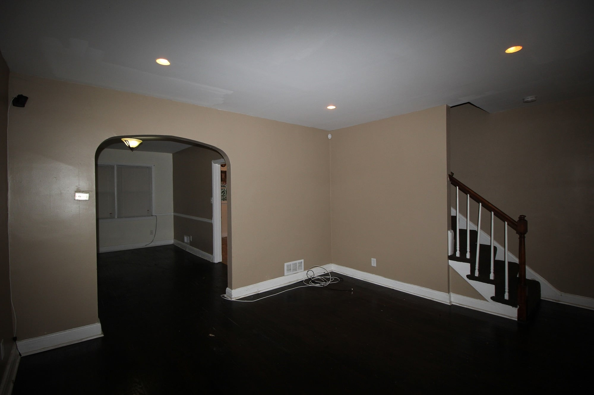 Living Room at 3834 Greenspring Ave