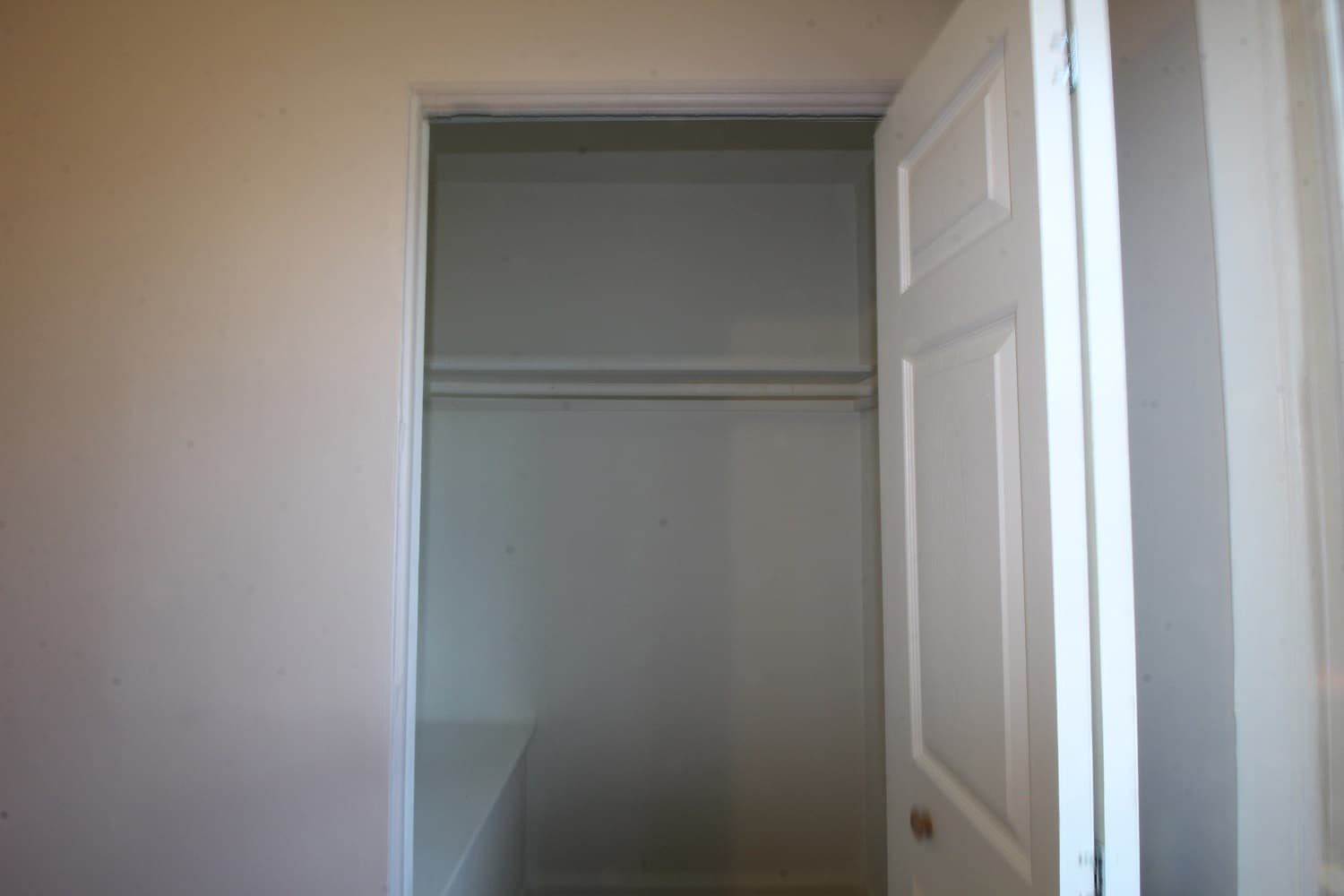 Closet in Bedroom at Garrison Townhomes