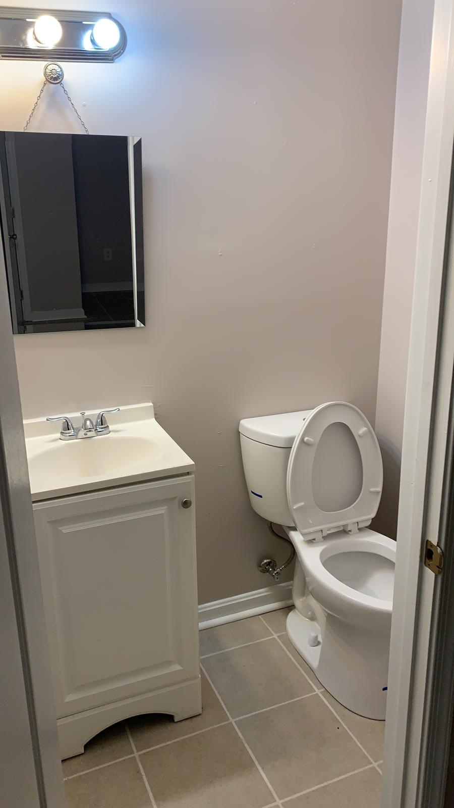 Small White Bathroom 1808 Mcculloh