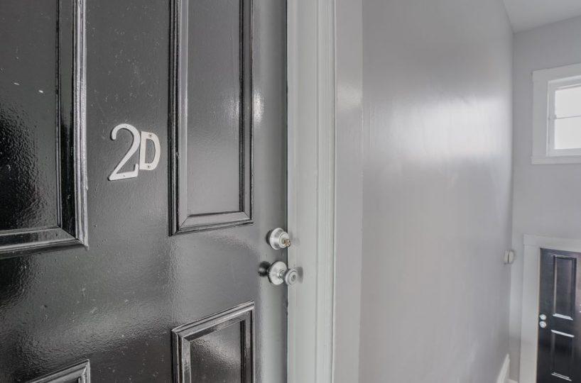 Front Door 10 E Madison Apt 2D