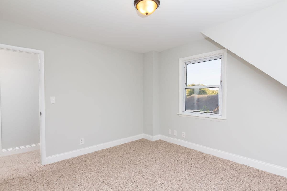 Bedroom on upper floor at 7722 N Cove Road
