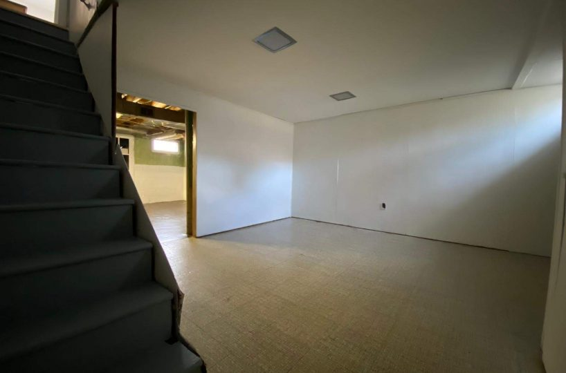 Two Room Basement at 8357 Ridgely Oak Baltimore