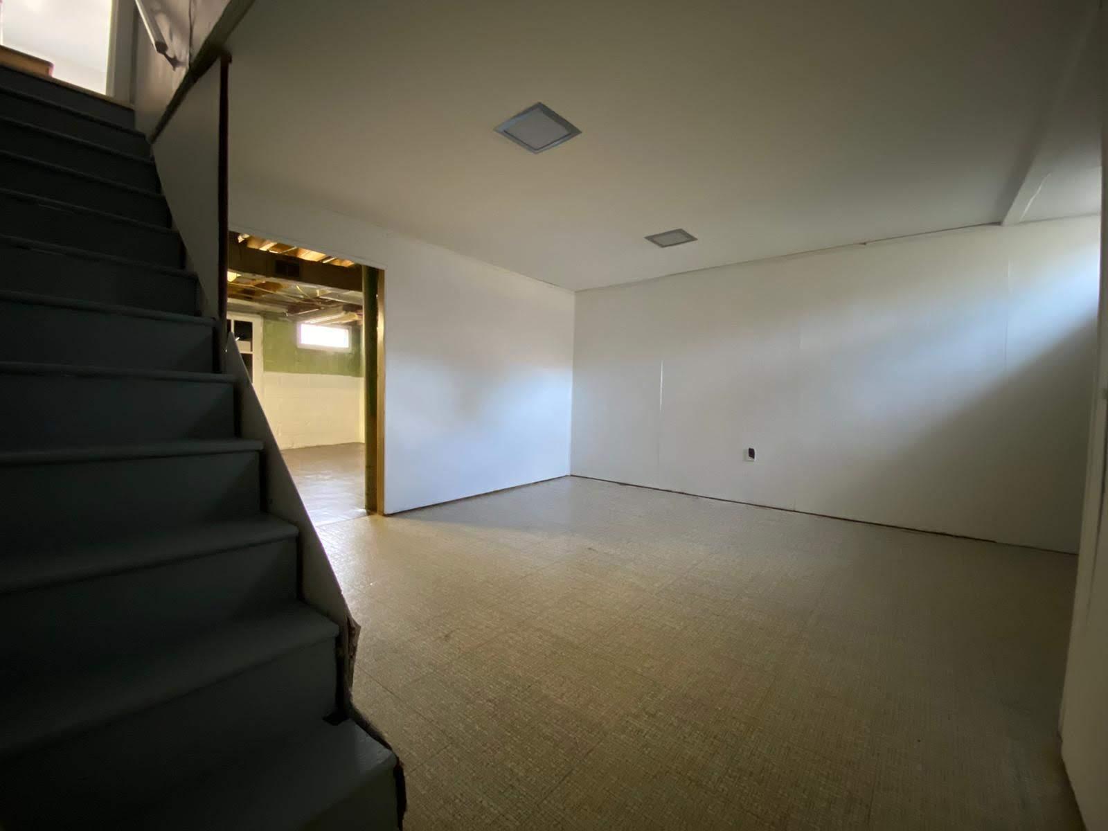 Two Room Basement at 8357 Ridgely Oak Baltimore