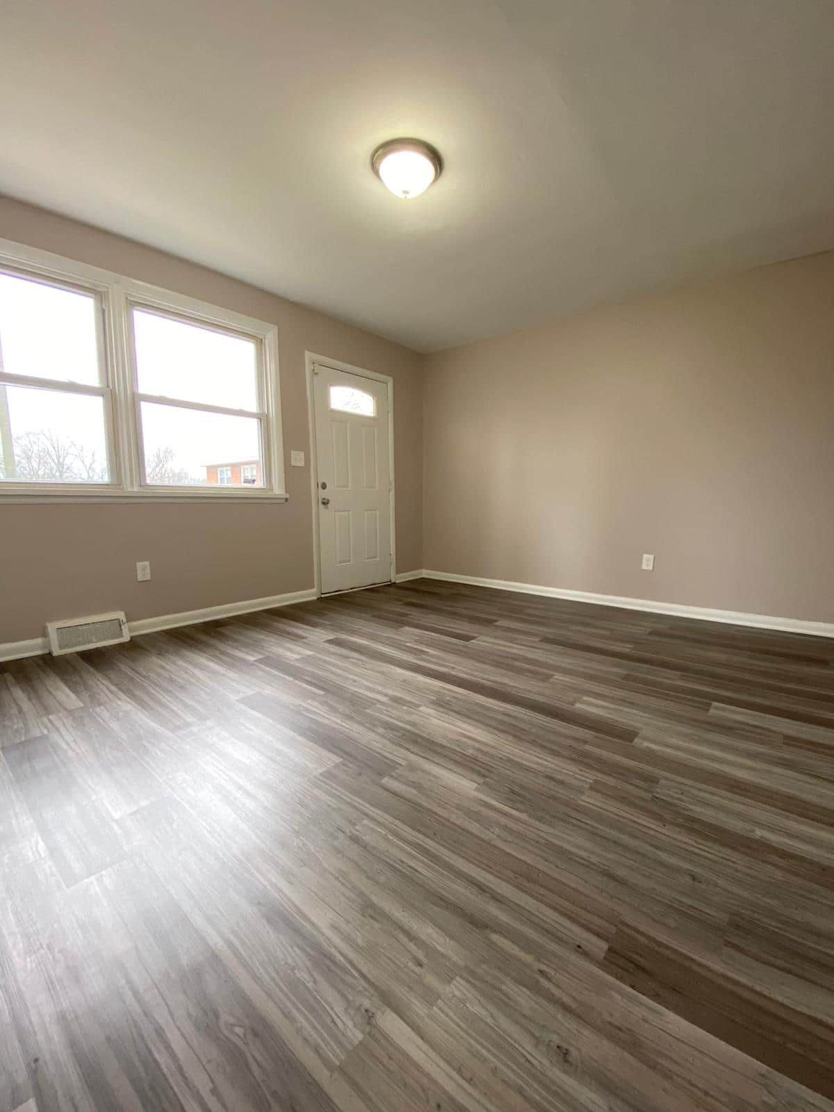 Living Room in Rogers Townhomes