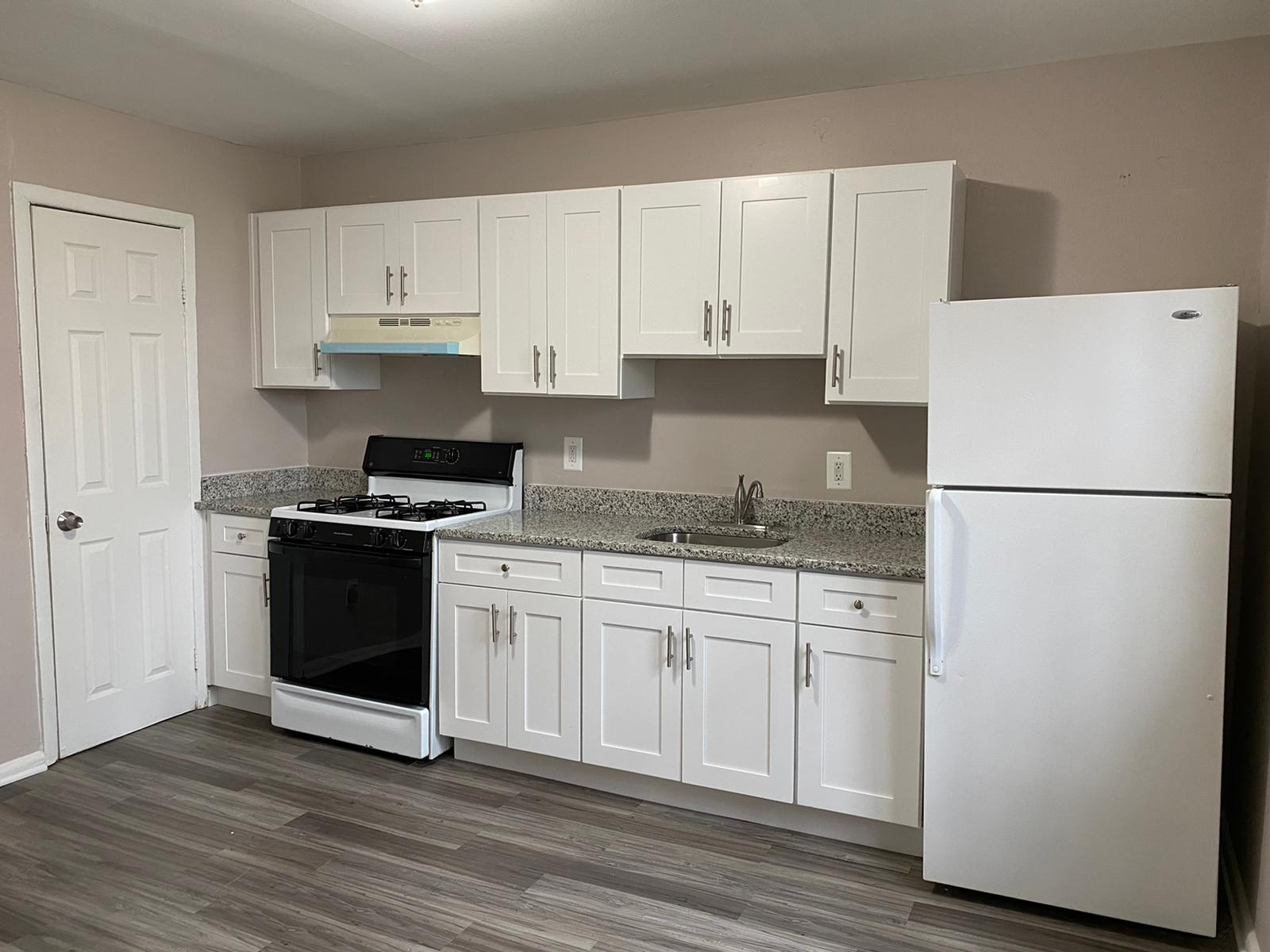 Kitchen in Rogers Townhomes
