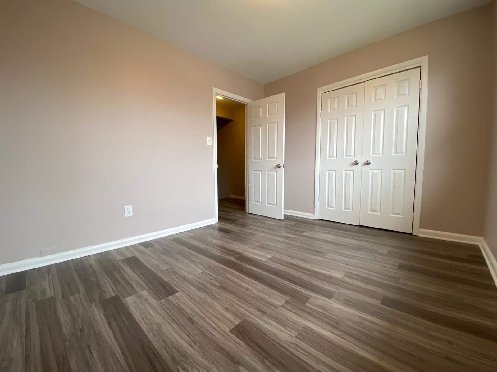 Bedroom at Rogers Townhomes