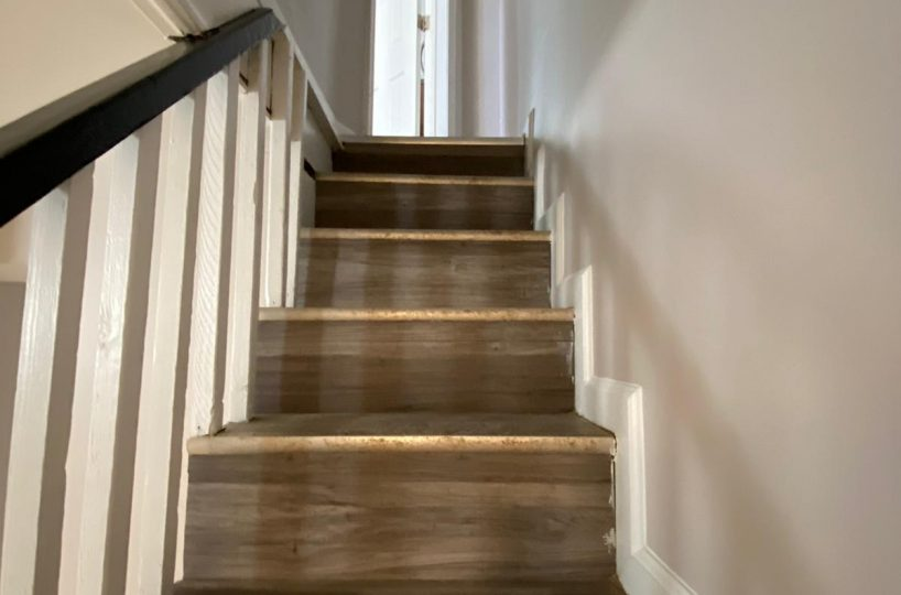Stairs leading upstairs 534 Beaumont Ave