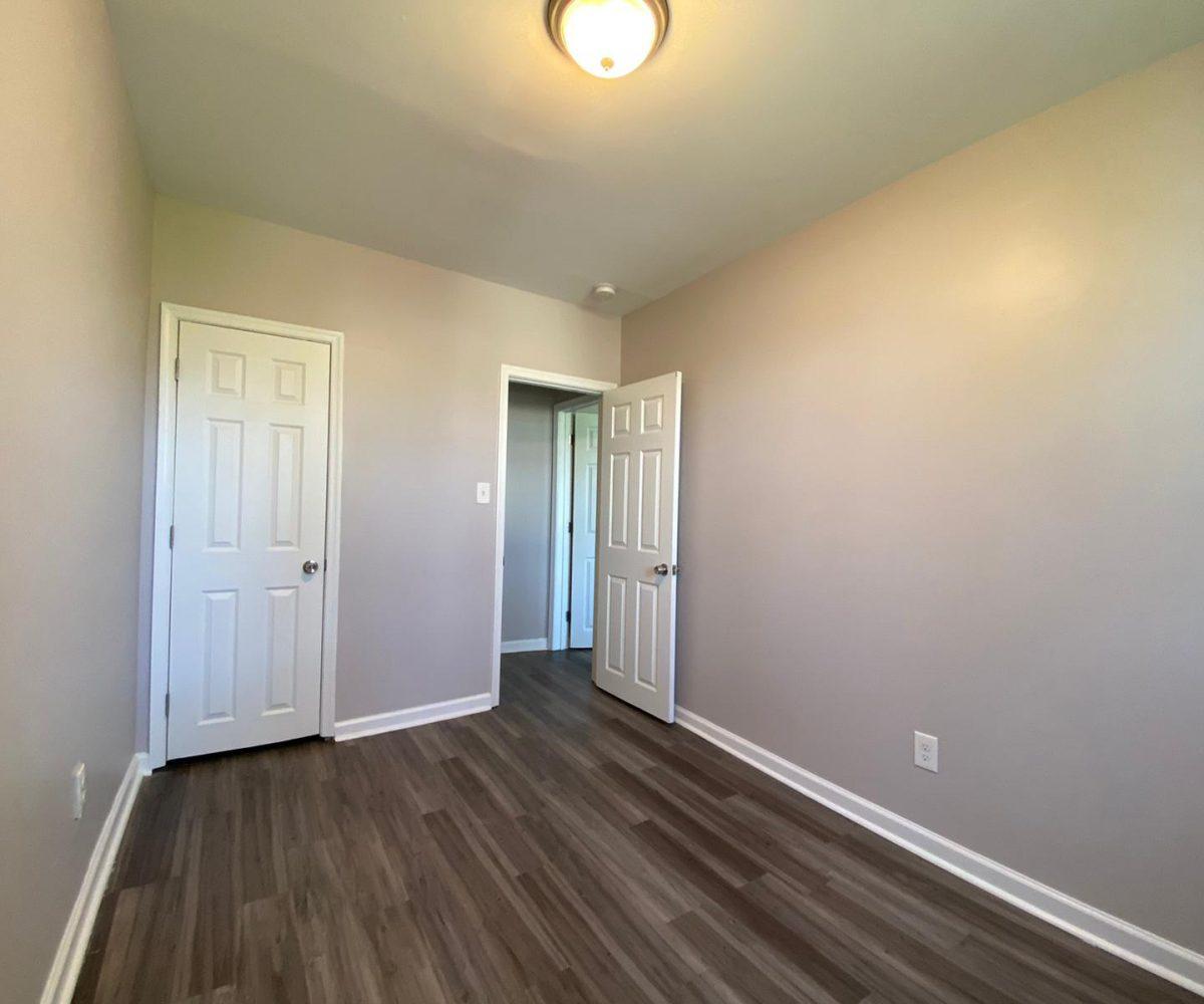 Bedroom with View of Closet Door 534 Beaumont Baltimore