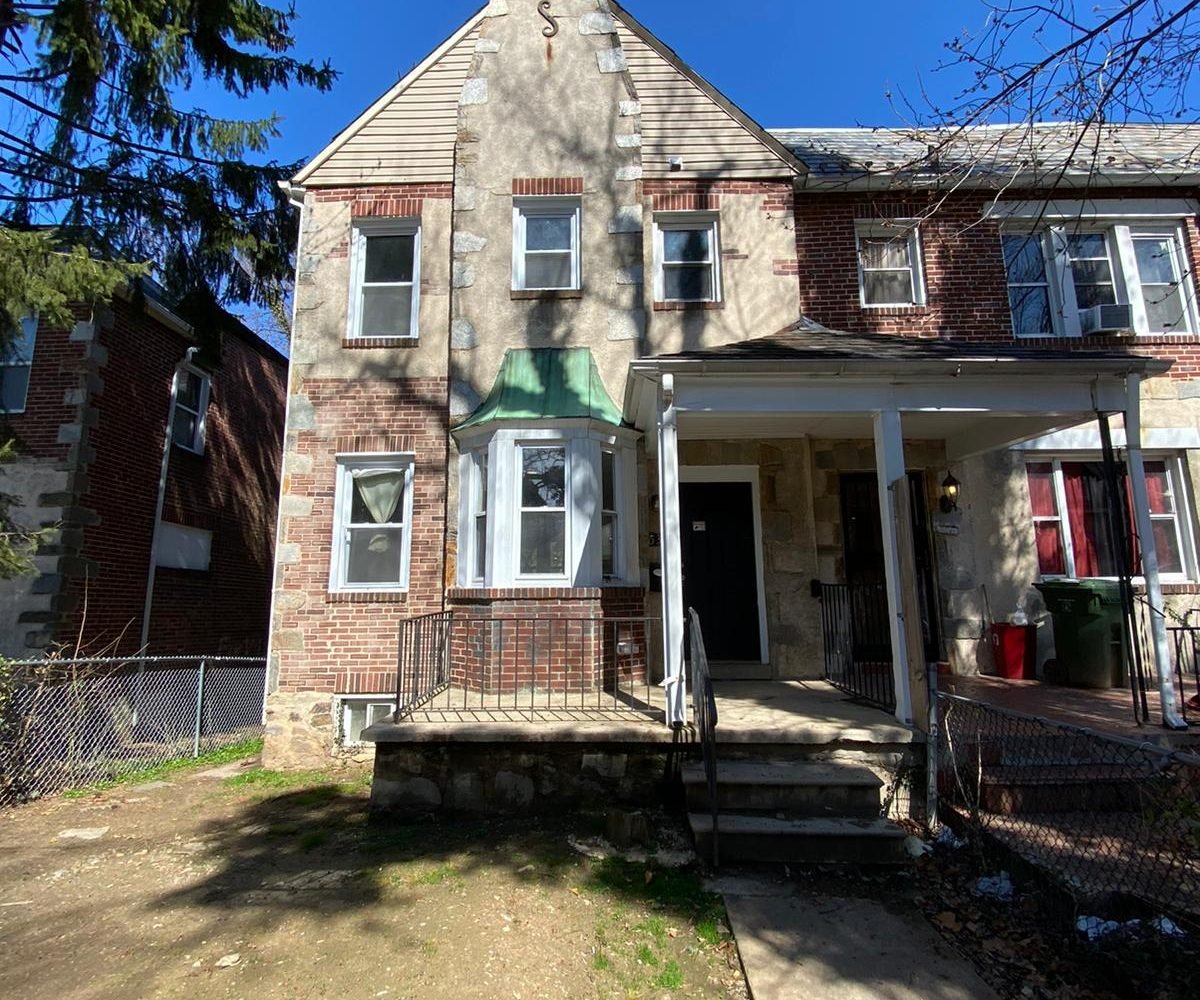 Front Porch of 534 Beaumont Baltimore