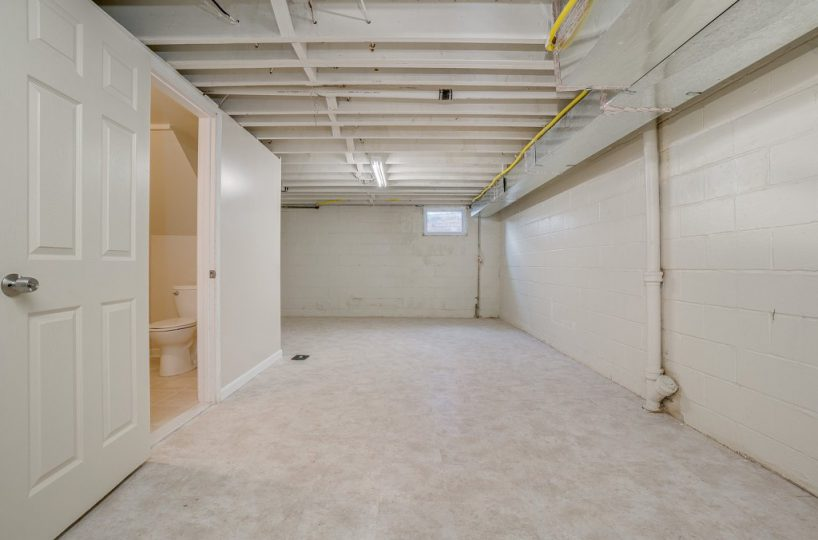 Basement at 345 Endsleigh Ave