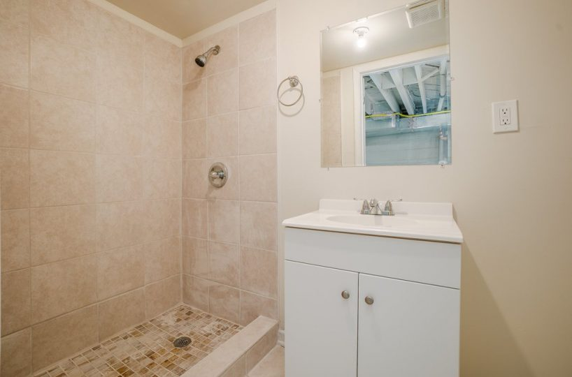 Shower and Sink at 345 Endsleigh Ave