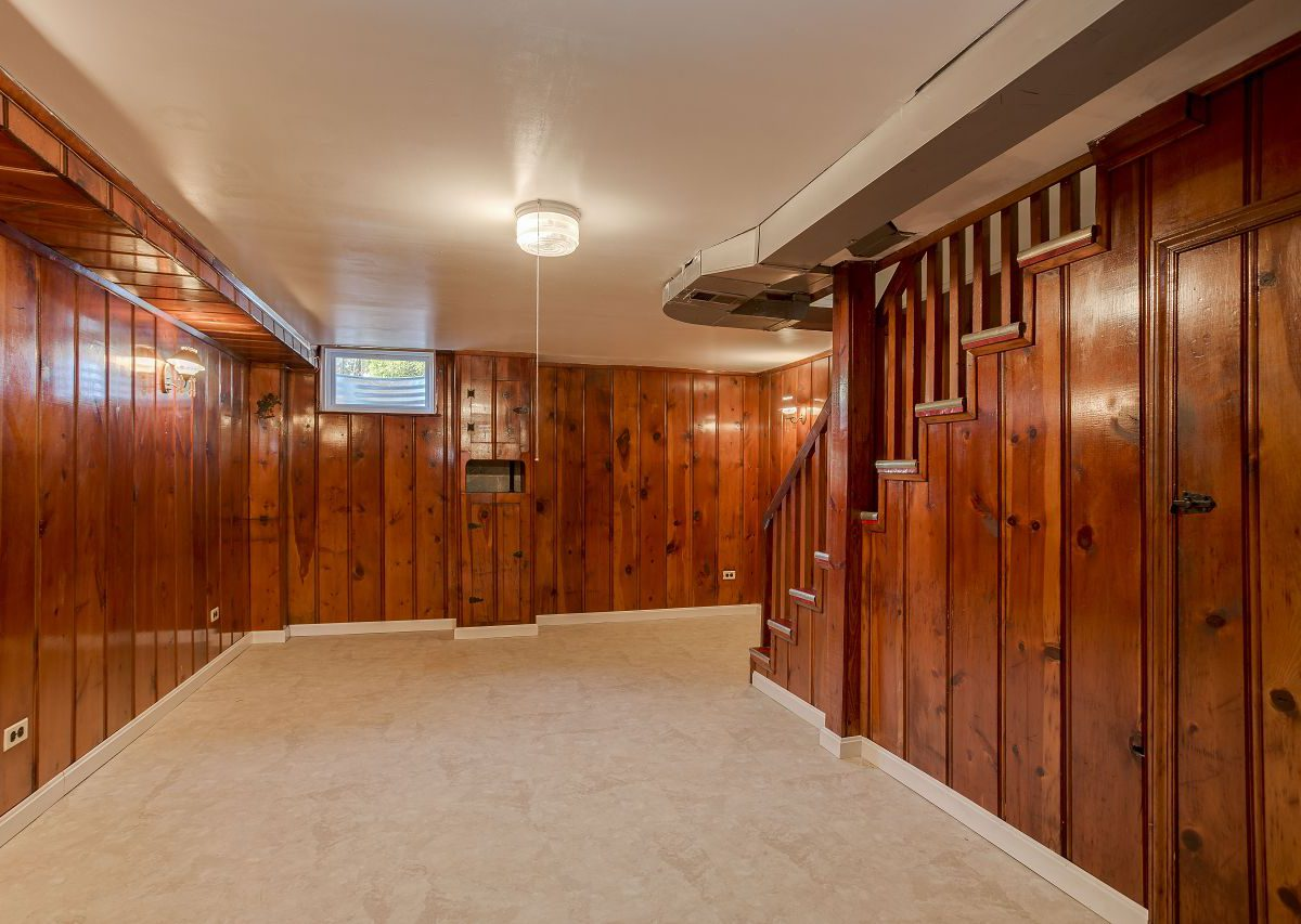 Wooden Basement at 3825 Lyndale Ave