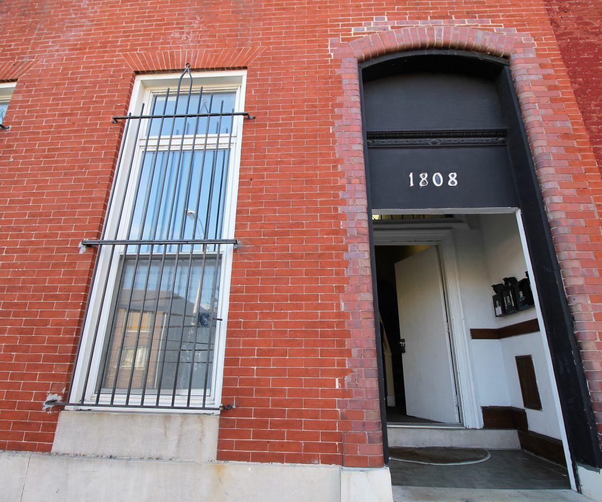 Front Door at 1808 Mcculloh C1F