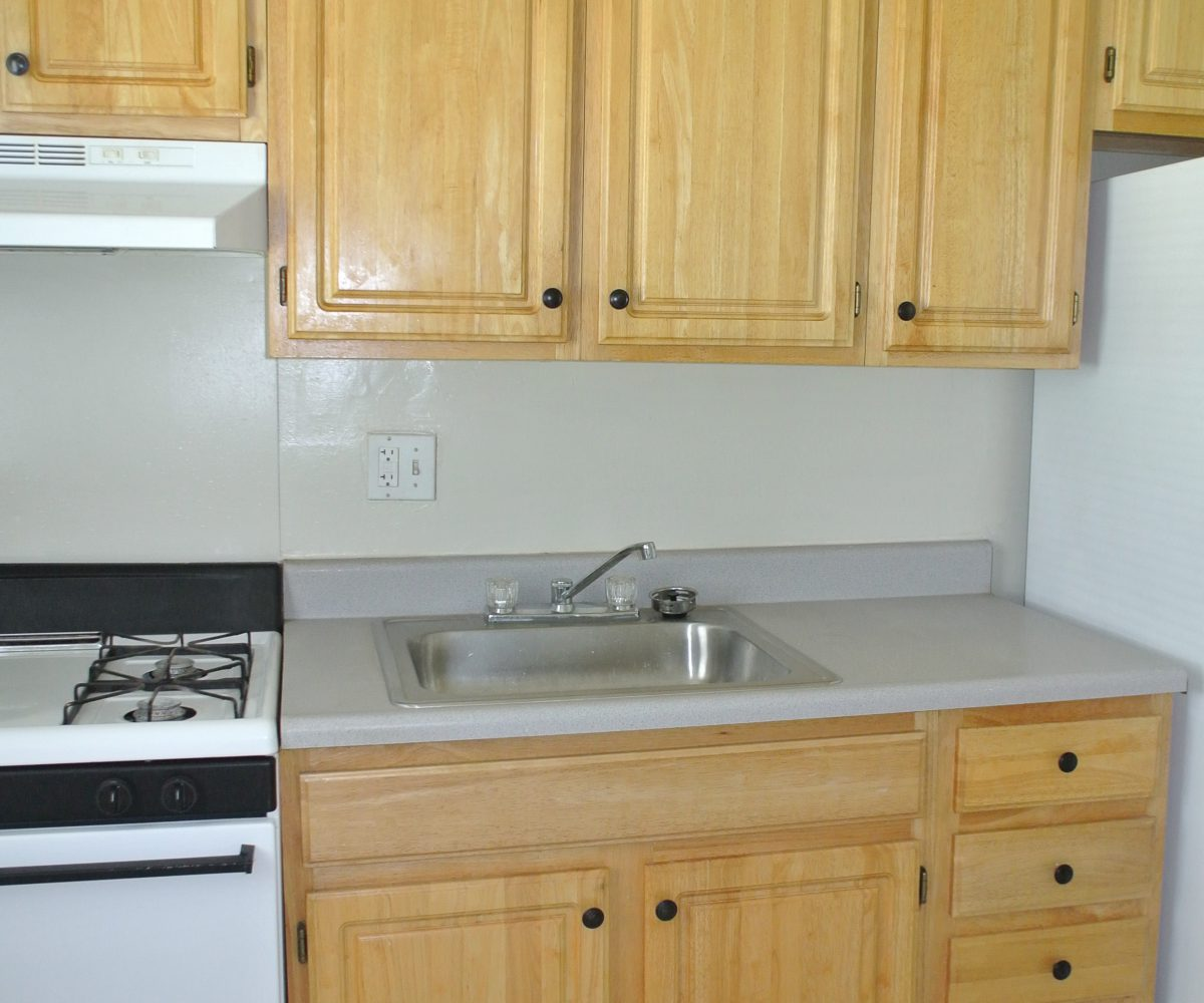 Kitchen at Robinwood Townhomes
