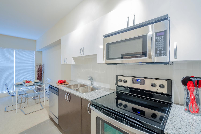organized decluttered kitchen