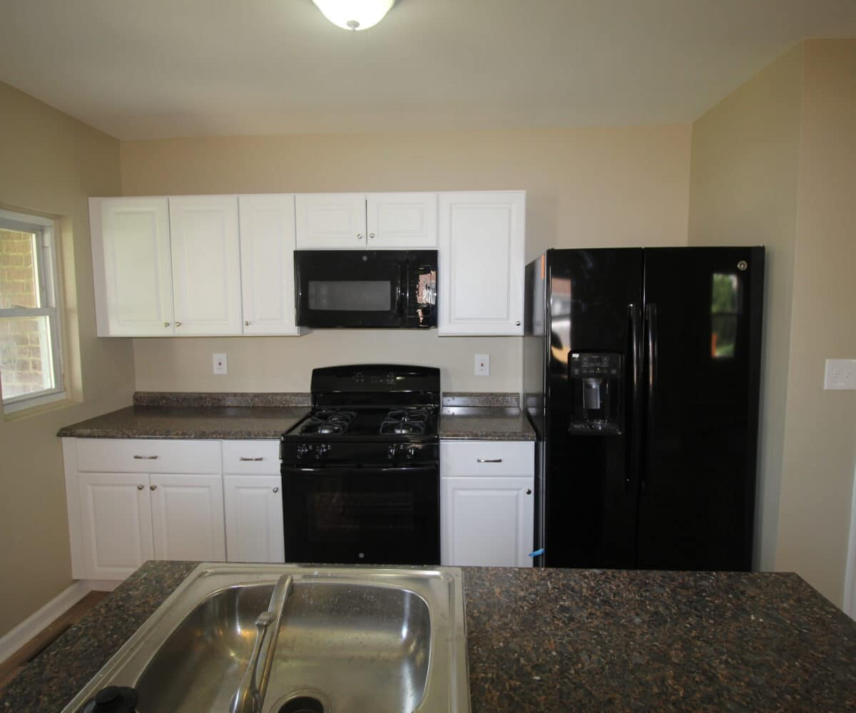 Kitchen with Counters and Appliances on Kentway