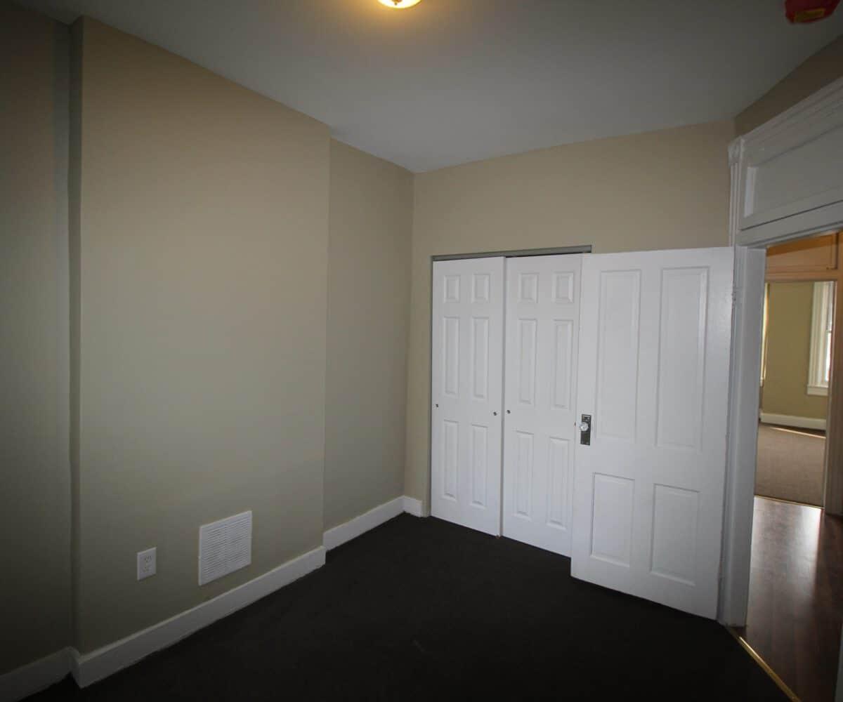 N Luzerne Ave Bedroom with View of Closet Door