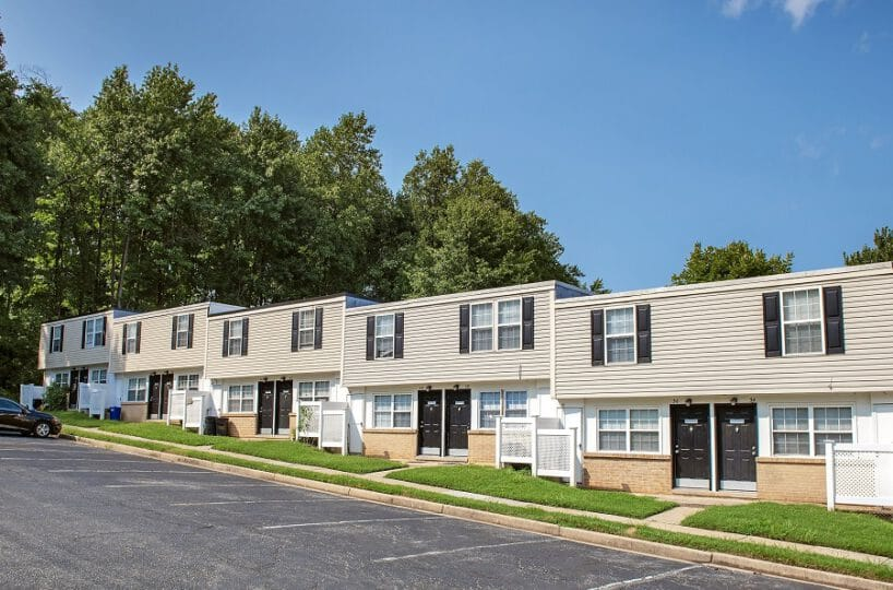 Fontana Village Townhomes with Parking Lot